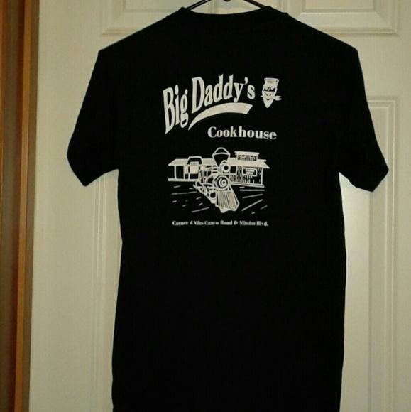 Vintage Other - Vintage single stitch big daddys cookhouse tshirt